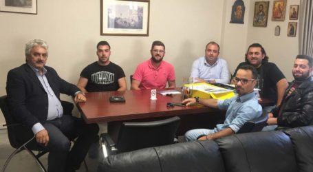Με τον Δήμαρχο Τεμπών το Διοικητικό Συμβούλιο του Εξωραϊστικου -Αθλητικού Συλλόγου περιοχής Συκουρίου