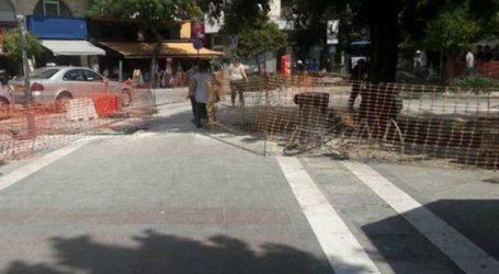 Κλειστή από αύριο η διάβαση των πεζών στην συμβολή των οδών Κύπρου και Μεγάλου Αλεξάνδρου
