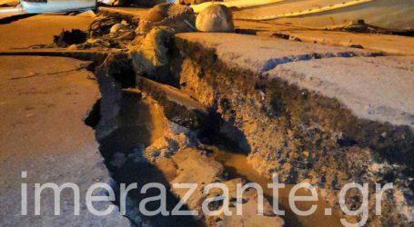 Οι πρώτες εικόνες από τη Ζάκυνθο μετά τον ισχυρό σεισμό