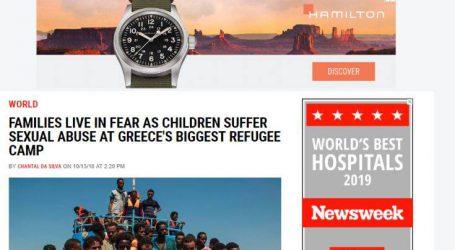 «Ψευδής είδηση τα όσα δημοσίευσε το Newsweek για βιασμούς ανηλίκων στη Μόρια»