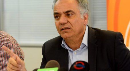 Ο Σκουρλέτης στη Λάρισα για τις αυτοδιοικητικές εκλογές