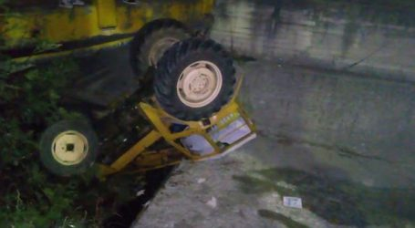 Τραυματίας από εκτροπή-ανατροπή τρακτέρ στην Τσαριτσάνη (φωτο)