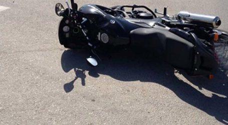 Ελασσόνα: Τραυματίστηκε σοβαρά στο κεφάλι 51χρονος σε τροχαίο με μοτοσυκλέτα