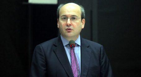 Στη Λάρισα ο αντιπρόεδρος της Ν.Δ. Κωστής Χατζηδάκης σε εκδήλωση της ΔΗΜΤΟ για τη φυγή των νέων στο εξωτερικό