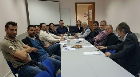 Συνάντηση Εργασίας Τρύφωνα Πλαστάρα με τα πρωτοβάθμια σωματεία της ΟΕΒΕ Λάρισας