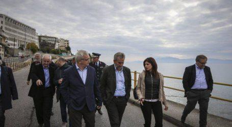 Αυτοψία στη γέφυρα που κατέρρευσε στην Καβάλα πραγματοποίησε η Νοτοπούλου