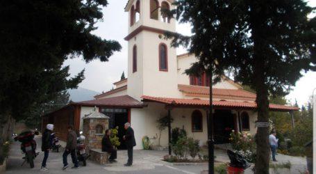 Πανηγυρίζουν οι ναοί του Αγίου Ανδρέα στον Βόλο