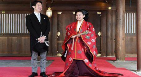 Η πριγκίπισσα Αγιάκο της Ιαπωνίας παντρεύτηκε τον κοινό θνητό Κέι Μορίγια σε παραδοσιακή τελετή