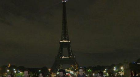 Ο Πύργος του Άιφελ έσβησε τα φώτα του για τον Τζαμάλ Κασόγκι