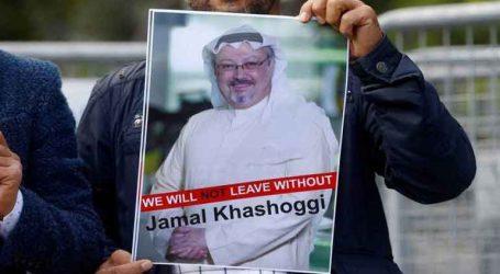 Ακτιβιστές της Διεθνούς Αμνηστίας «μετονόμασαν» δρόμο του Λονδίνου σε οδό «Κασόγκι»