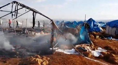 Για πρώτη φορά ο ΟΗΕ άρχισε να διανέμει βοήθεια σε καταυλισμό εκτοπισμένων