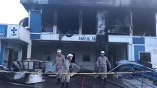 Τρεις νεκροί από πυρκαγιά σε νοσοκομείο στο Ρίο ντε Τζανέιρο