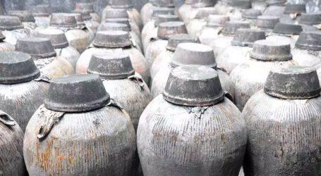 Εντοπίστηκε σε τάφο ένα δοχείο που περιείχε κρασί ηλικίας 2.000 ετών