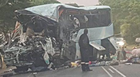 Τουλάχιστον 47 νεκροί από τη σύγκρουση δύο λεωφορείων