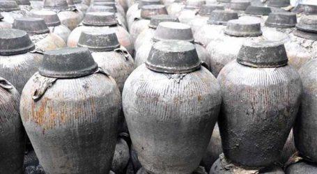 Υγρό με οσμή κρασιού ανακαλύφθηκε σε δοχείο 2.000 ετών
