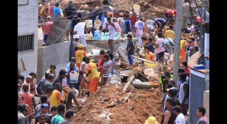 Εννέα νεκροί σε κατολίσθηση κοντά στο Ρίο