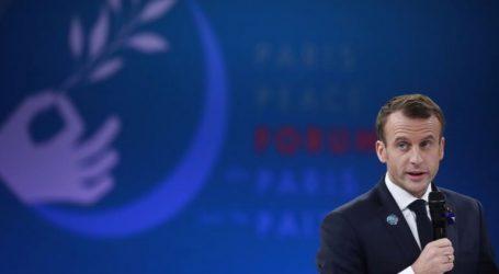 Ο Εμανουέλ Μακρόν άνοιξε τις εργασίες του φόρουμ για την ειρήνη