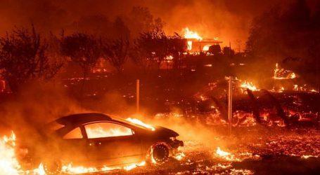 Εικονολήπτης από την κόλαση της Καλιφόρνια: Είμαι περικυκλωμένος από φωτιά