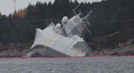 Βυθίστηκε η νορβηγική φρεγάτα που συγκρούστηκε με το ελληνόκτητο πετρελαιοφόρο