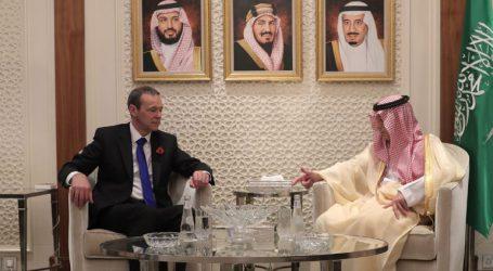 Τετ α τετ του Βρετανού απεσταλμένου με τον Σαουδάραβα πρίγκιπα