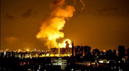 Ισραηλινά αεροσκάφη βομβάρδισαν τον τηλεοπτικό σταθμό της Χαμάς στη Γάζα