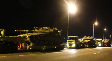 Πολεμικές προετοιμασίες του Ισραήλ στα σύνορα με τη Γάζα