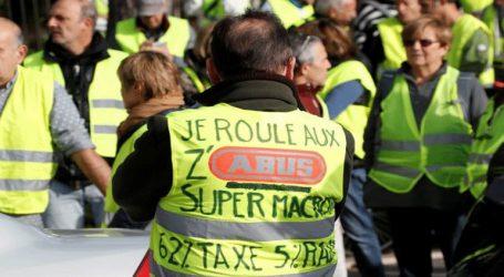 Περίπου 2.000 συγκεντρώσεις διαμαρτυρίας και 124.000 διαδηλωτές του κινήματος «Κίτρινα Γιλέκα»