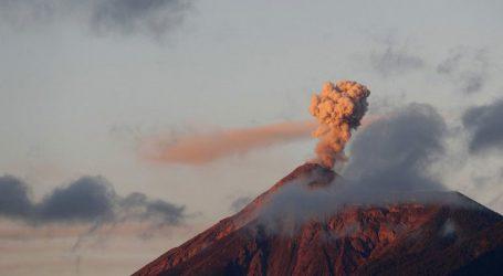 Γουατεμάλα: Ενεργοποιήθηκε το ηφαίστειο Φουέγο