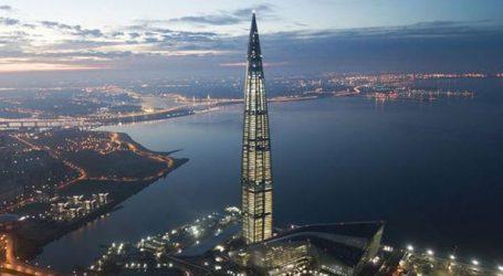 Στην Αγ. Πετρούπολη ο υψηλότερος ουρανοξύστης της Ευρώπης