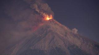 Τερματίστηκε η φάση της έκρηξης του ηφαιστείου Φουέγο