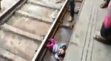 Τρένο πέρασε πάνω από μωρό και το μωρό είναι σώο και αβλαβές