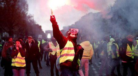 Γαλλία: Περισσότεροι από 105.000 διαδηλωτές στους δρόμους