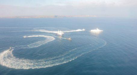 Στο λιμάνι του Κερτς τα ουκρανικά πλοία που συνελήφθησαν από ρωσικά