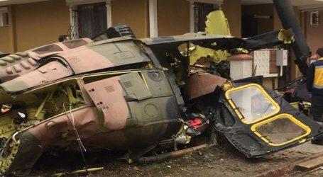 Στρατιωτικό ελικόπτερο έπεσε σε κατοικημένη περιοχή της Κωνσταντινούπολης