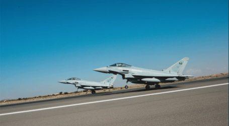 Η Βρετανική Βασιλική Πολεμική Αεροπορία ξεκινά τα γυμνάσια με τη Σαουδική Αραβία