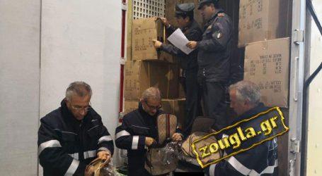 Kατάσχεση μαμούθ «μαϊμού» προϊόντων από την Ελλάδα
