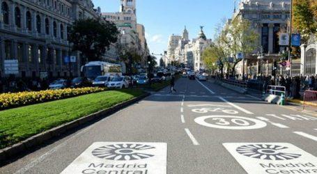Η Μαδρίτη περιορίζει την κυκλοφορία των αυτοκινήτων στο κέντρο της πόλης για να αντιμετωπίσει την ατμοσφαιρική ρύπανση