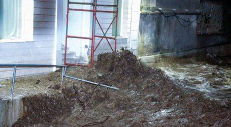 Μεγάλες οι καταστροφές από την κακοκαιρία στη Λέσβο