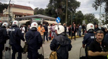 Πορεία διαμαρτυρίας των Κερκυραίων για τα απορρίμματα