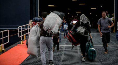 Πάνω από 400 ευάλωτοι πρόσφυγες μεταφέρονται από τα νησιά στην ενδοχώρα