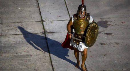 Ο ξυπόλητος «Λεωνίδας» στο Μαραθώνιο