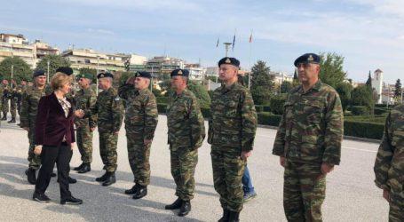 «Εντός Νοεμβρίου» τα αναδρομικά στους ένστολους είπε από τη Λάρισα η υφυπουργός Εθνικής Άμυνας Μαρία Κόλλια