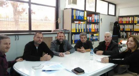Συνάντηση στελεχών του Ποταμιού με το Προεδρείο του Εθνικού Αθλητικού Κέντρου Λάρισας
