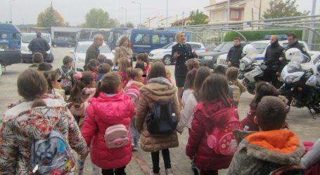 Με επιτυχία ολοκληρώθηκαν οι επισκέψεις μαθητών σχολείων του νομού Λάρισας στο Αστυνομικό Μέγαρο Λάρισας