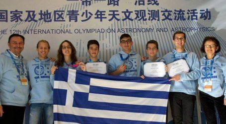 Δύο χάλκινα μετάλλια για Έλληνες μαθητές στην Ολυμπιάδα Αστρονομίας-Αστροφυσικής