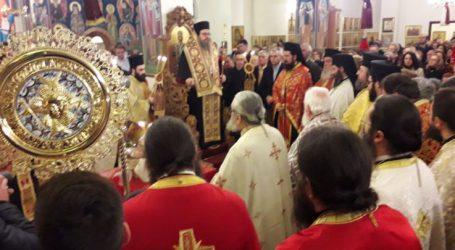 Στην Αγία Αικατερίνη στο Αλκαζάρ λειτούργησε ο Μητροπολίτης Ιερώνυμος