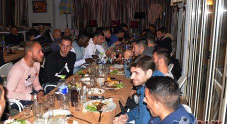 Οικογενειακή βραδιά για το ποδοσφαιρικό τμήμα του Ολυμπιακού Βόλου [εικόνες]
