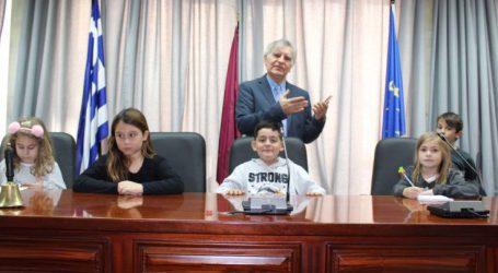 Στο Δημοτικό Συμβούλιο παιδιά του 3ου Δημοτικού Σχολείου Λάρισας