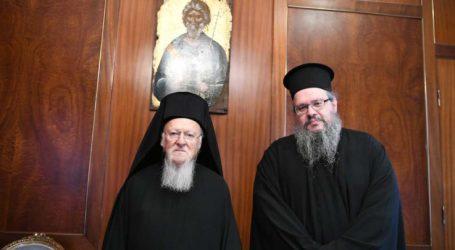 Επίσκεψητου νέου Μητροπολίτου Λαρίσης Ιερωνύμου στο Οικουμενικό Πατριαρχείο