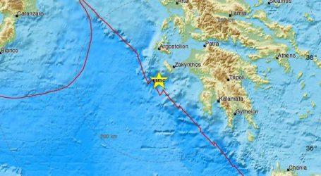 Νέος ισχυρός σεισμός τώρα στη Ζάκυνθο